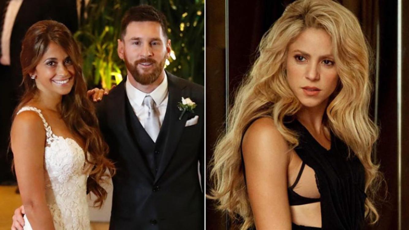 ¡Mala onda! Shakira se escondió en la boda de Messi cuando sonó el tema La bicicleta