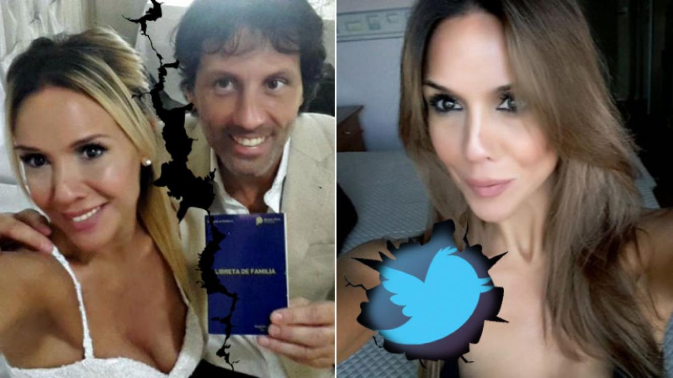 ¡Furiosa! Laura Miller publicó su divorcio en Twitter, a 6 meses de casarse.