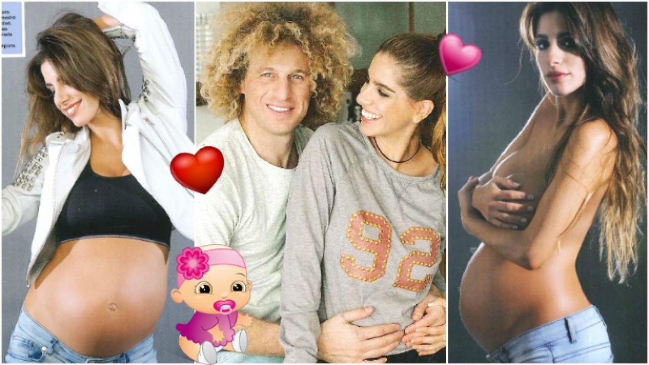 La tierna y sensual producción de Gabriela Sari, embarazada de 6 meses de Rulo Schijman (Fotos: revista Caras)