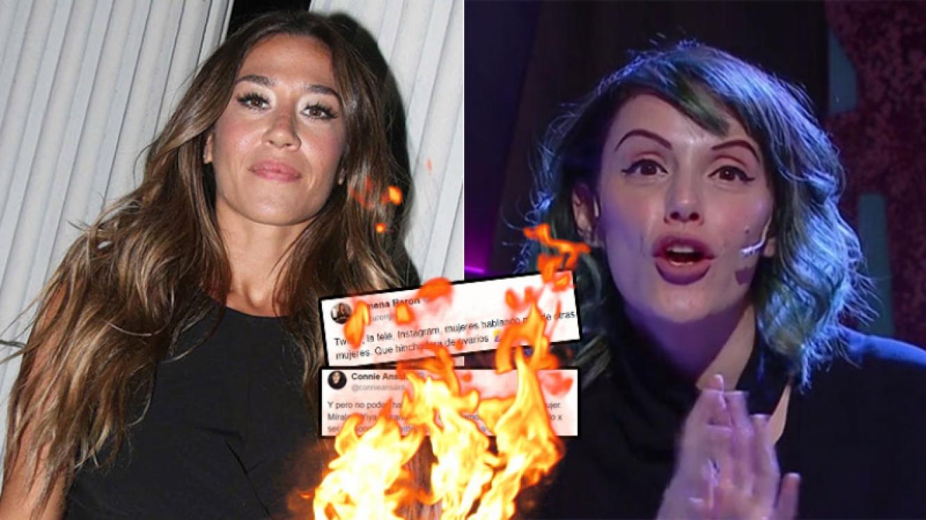 Escandaloso cruce entre Jimena Barón y Connie Ansaldi en Twitter