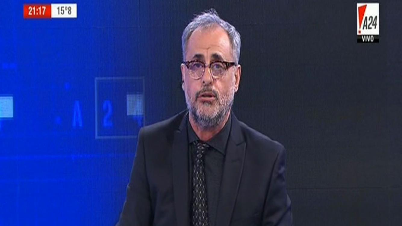 Jorge Rial abandonará el prime time de A24 por decisión propia. Foto: TV