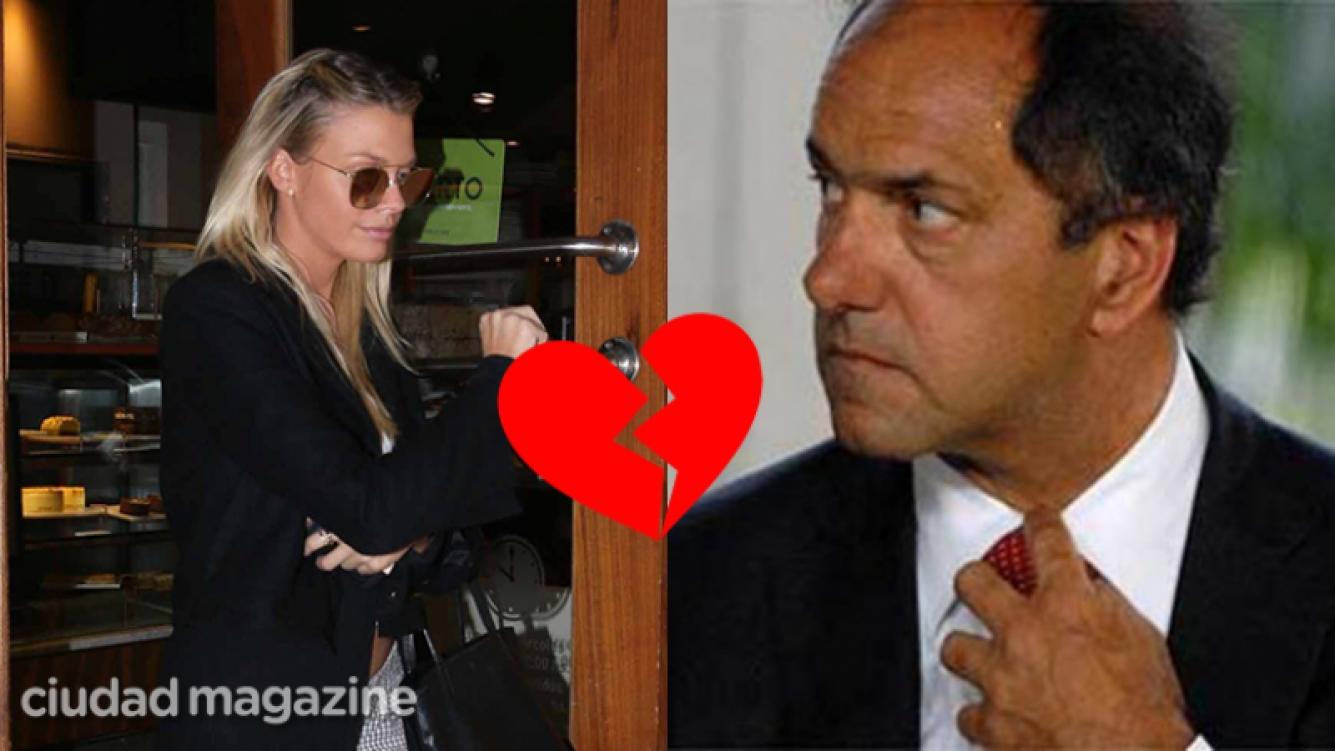 Gisela Berger continúa enojada y distanciada de Scioli.