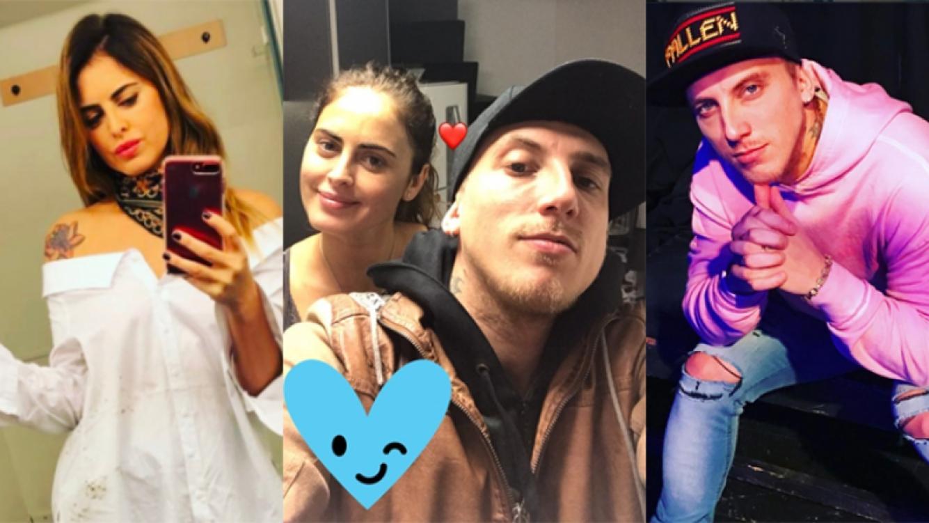 Silvina Luna y el Polaco, nuevamente juntos y enamorados (Fotos: Instagram).