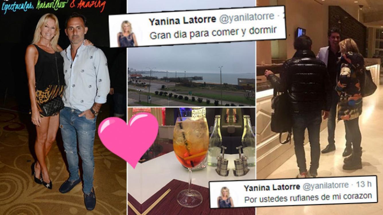 ¡Luchando por su amor! La escapada romántica de Yanina y Diego Latorre a Punta del Este