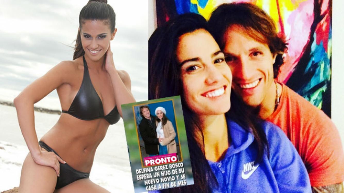 Delfina Gerez Bosco se casa con su novio a tres meses de oficializar el romance