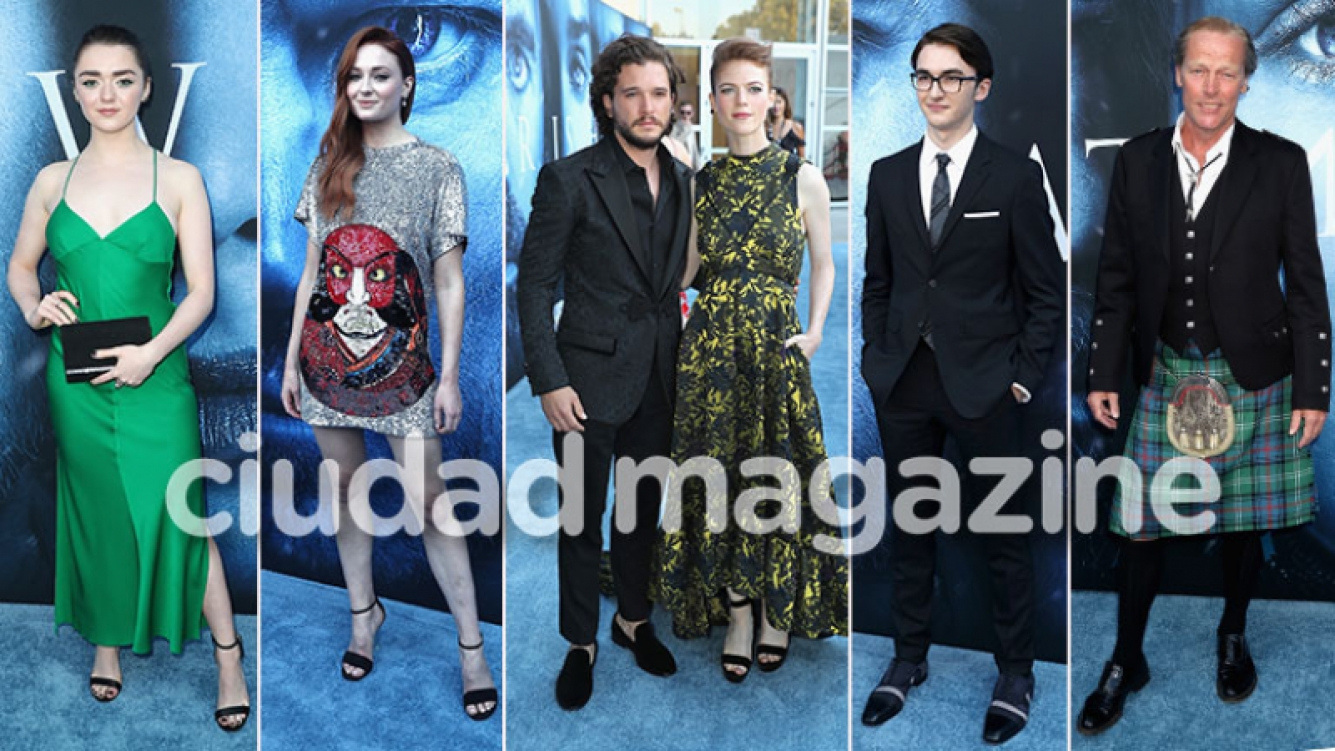 La premiere de la séptima temporada de Game of Thrones. (Foto: AFP)