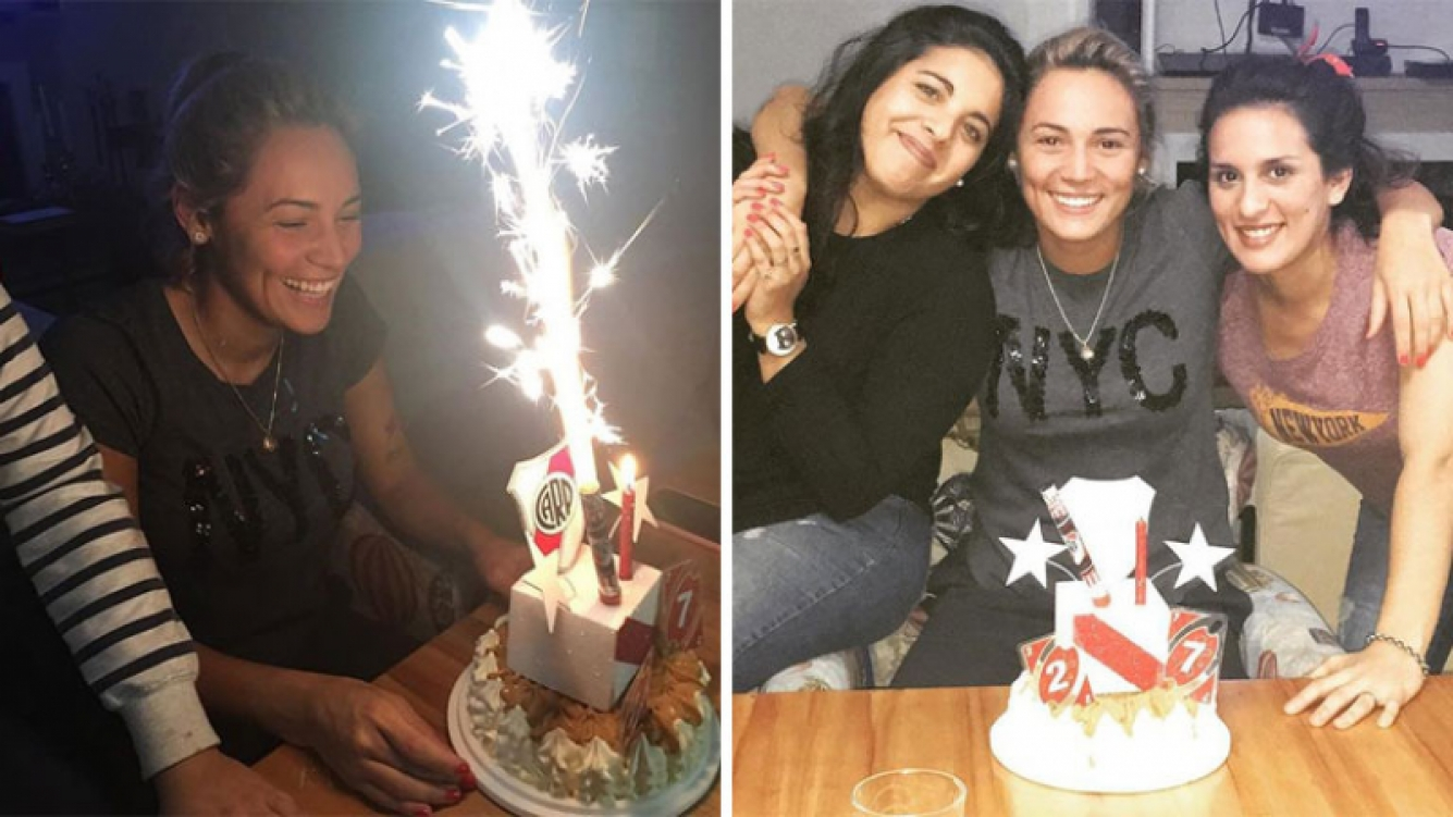 Rocío Oliva celebró sus 27 años entre familiares y amigas. Foto; Instagram