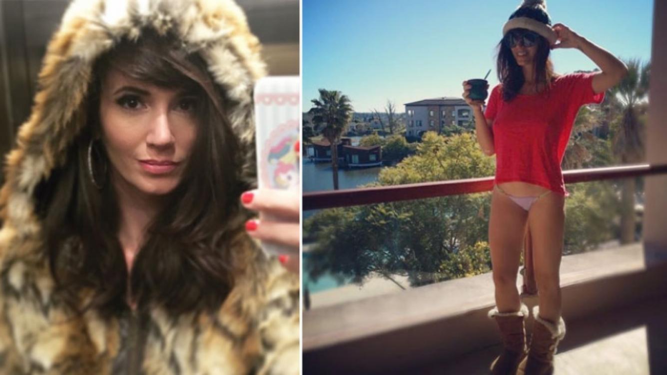 El pícaro look de Griselda Siciliani para hacerle frente al frío (Foto: Instagram)