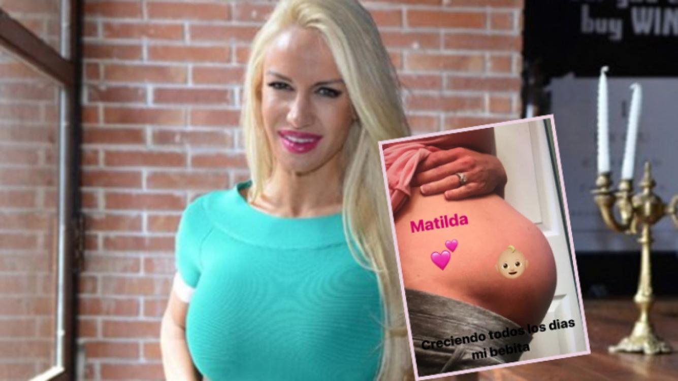 Luciana Salazar, feliz por la futura llegada de Matilda.