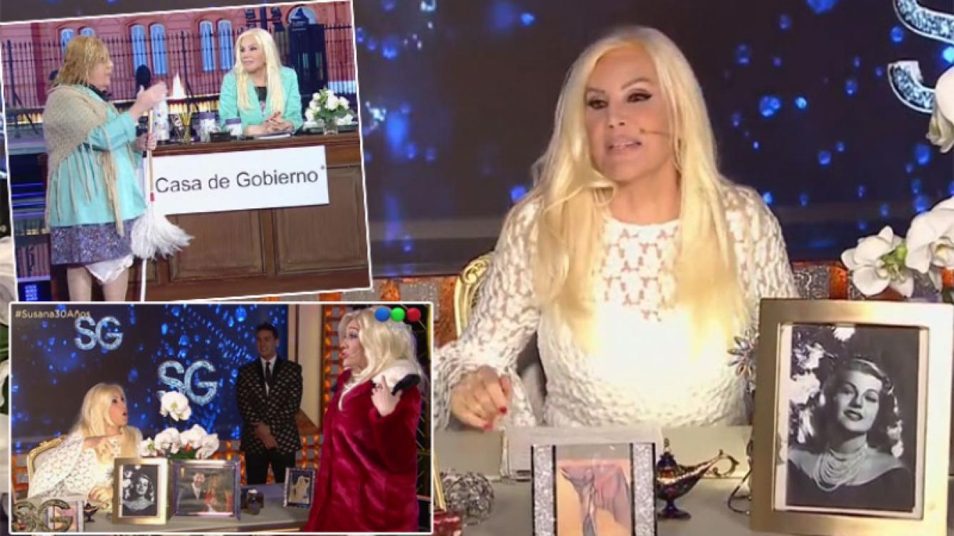 El malestar de Susana Giménez con los productores de su programa
