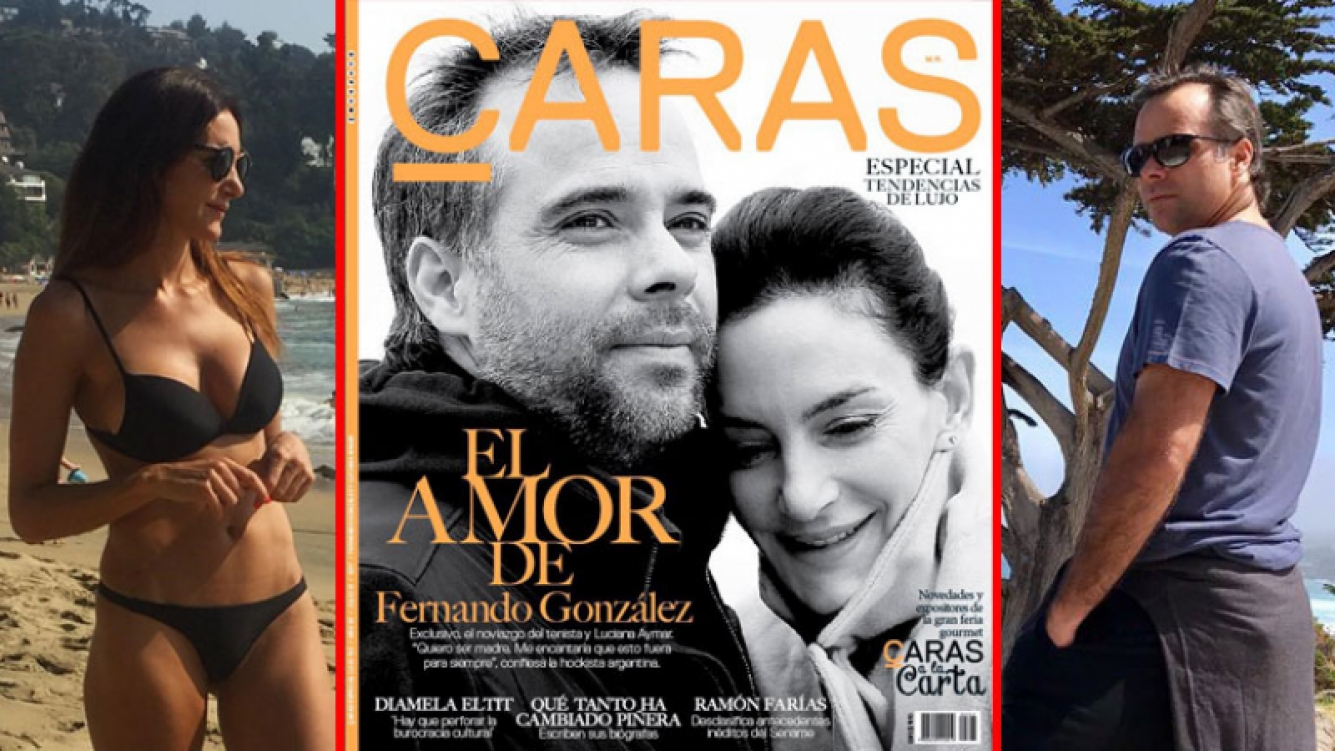 Fernando González y Luciana Aymar confirmaron su romance en revista