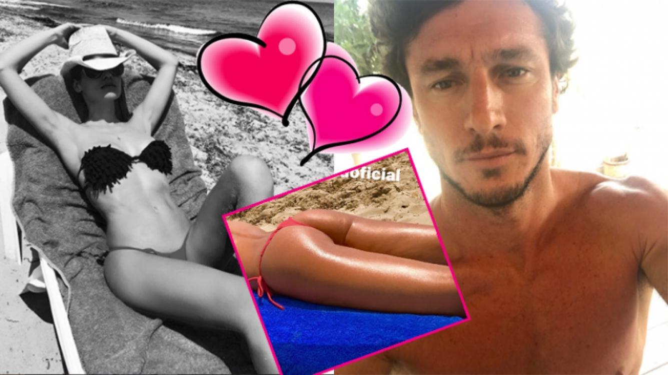 Pampita y Pico Mónaco, enamorados y sexies en Ibiza  (Fotos: Instagram).