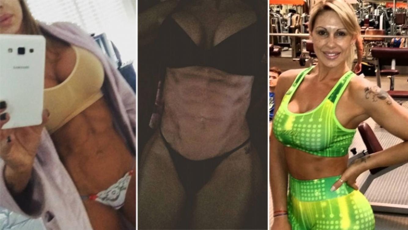 Mónica Farro, la diosa de los abdominales de acero. Foto: Instagram.