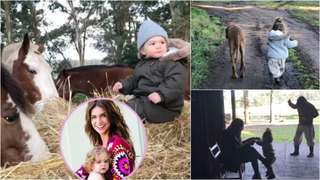 """Los videos súper tiernos de Zaira Nara con su hija Malaika en el campo: """"Domingo soleado, así te disfrutamos"""" Foto: Instagram/ Web"""