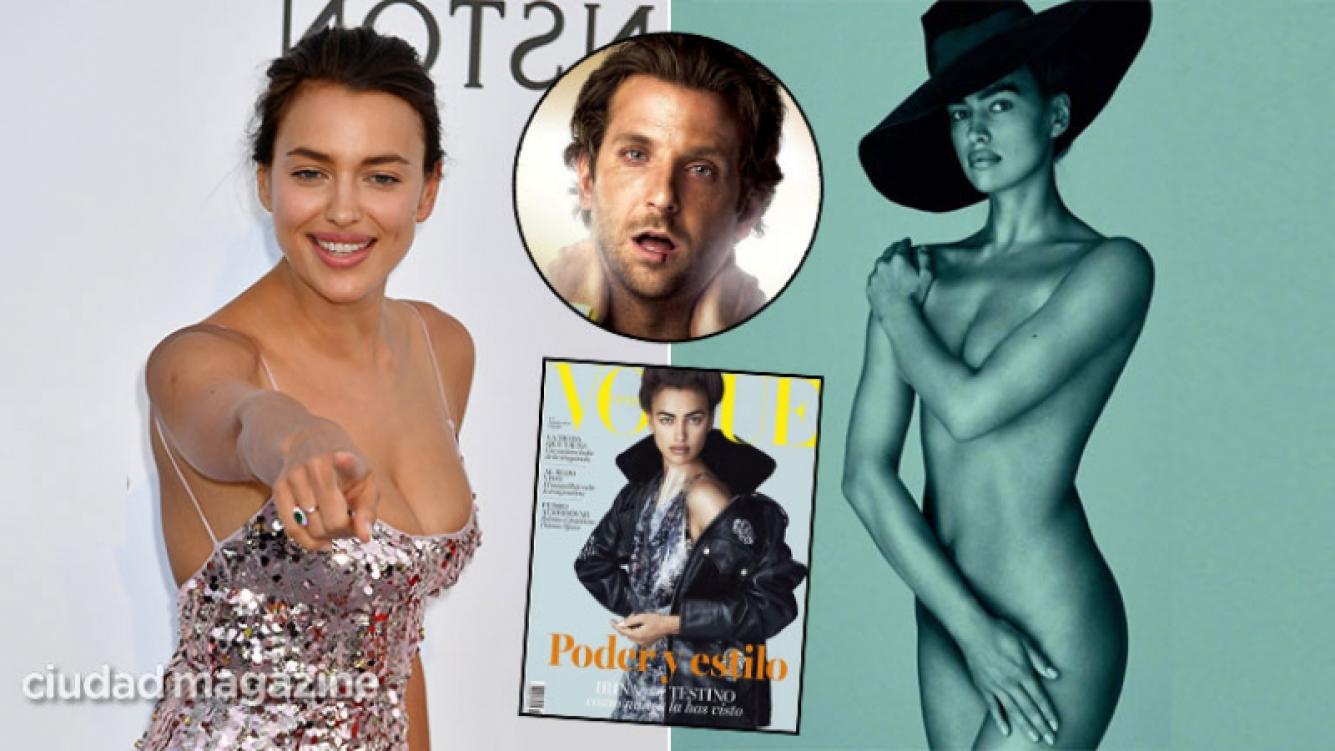 ¡Diosa de tapa! La top model Irina Shayk posó desnuda a cuatro meses de ser mamá. (Foto: Ciudad e Instagram)