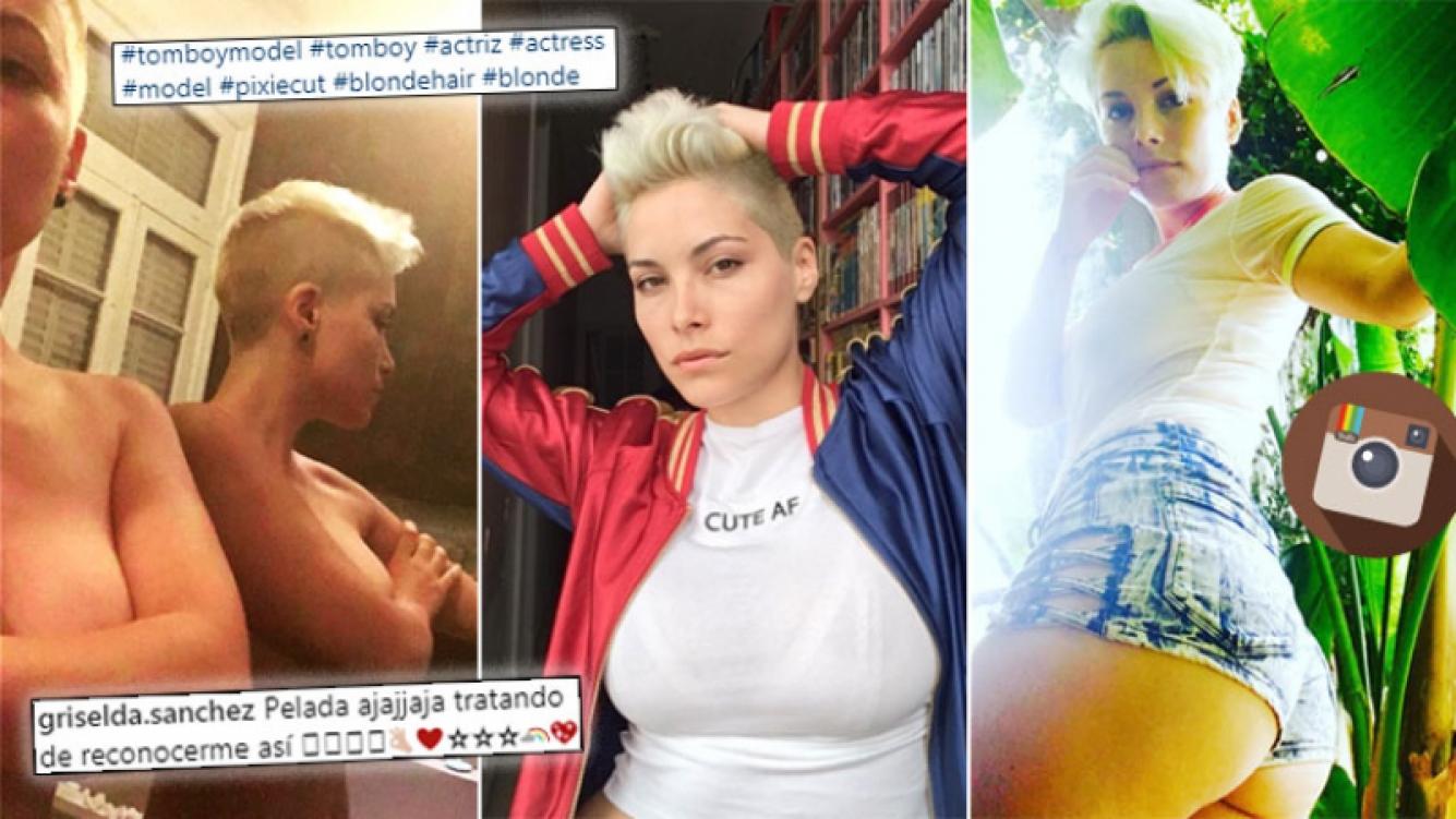 """¡Súper diosa! Mirá el radical look """"tomboy"""" de Griselda Sánchez"""