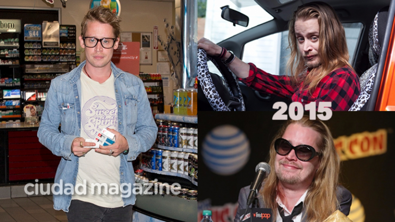 Macaulay Culkin sorprendió con su look mucho más prolijo (Fotos: Grosby Group y Web).