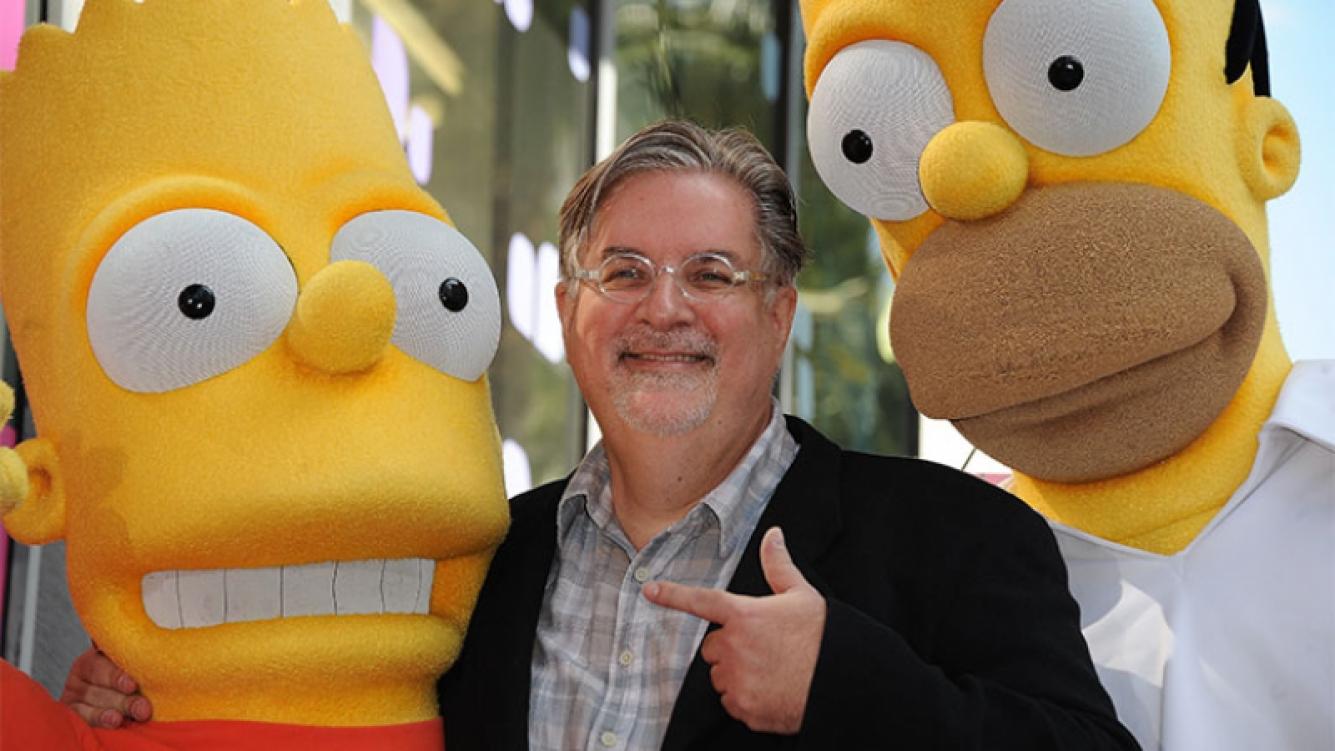 Matt Groening creará una comedia animada para adultos. Foto: AFP.