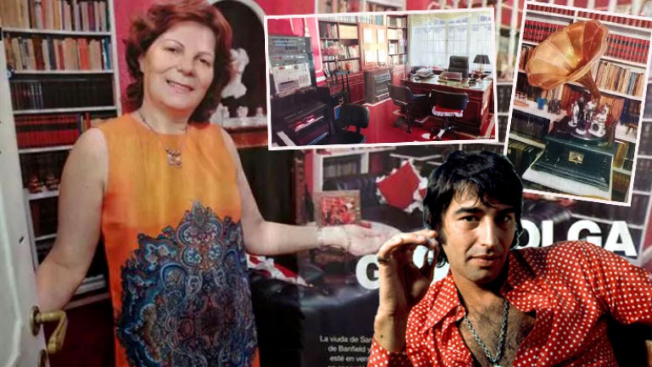 Olga Garaventa abrió las puertas de la misteriosa mansión de Sandro. (Foto: revista Gente)