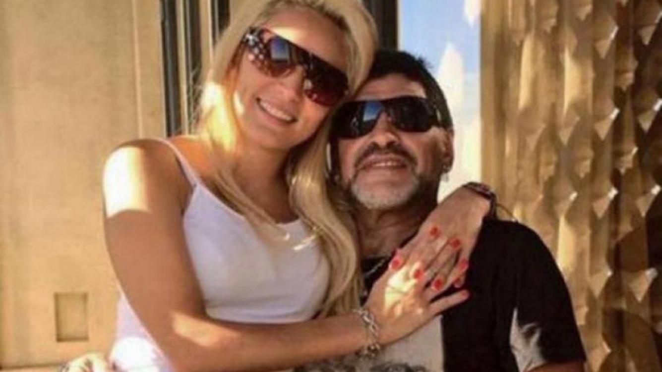 Rocío Oliva y Diego Maradona apuestan otra vez a su amor.
