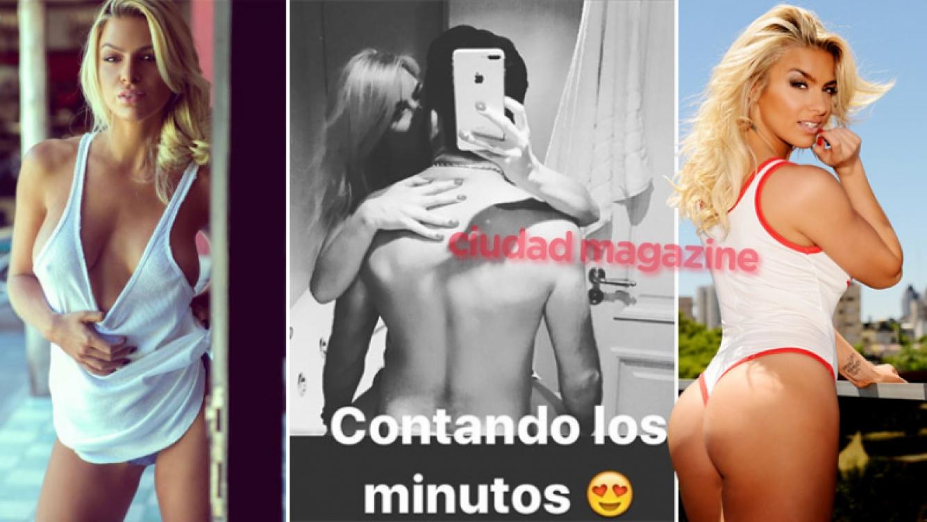 Ailén Bechara se irá a vivir a Europa con su novio, que es representante de futbolistas. (Fotos: Instagram Stories, archivo Ciudad y revista Playboy)