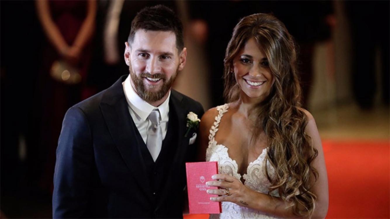 La verdad sobre las donaciones de los famosos en la boda de Lionel Messi.