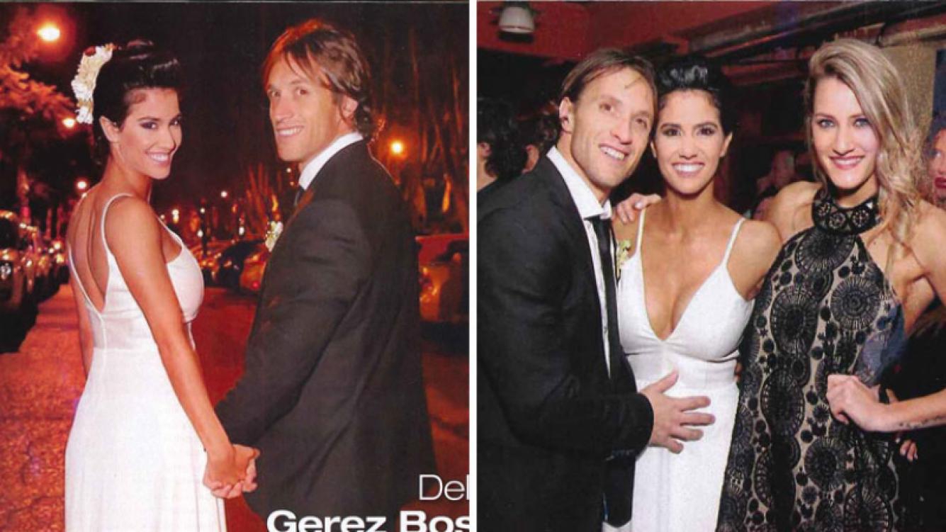 Delfina Gerez Bosco y Fernando Beni se casaron a cuatro meses de noviazgo. (Foto: Paparazzi)