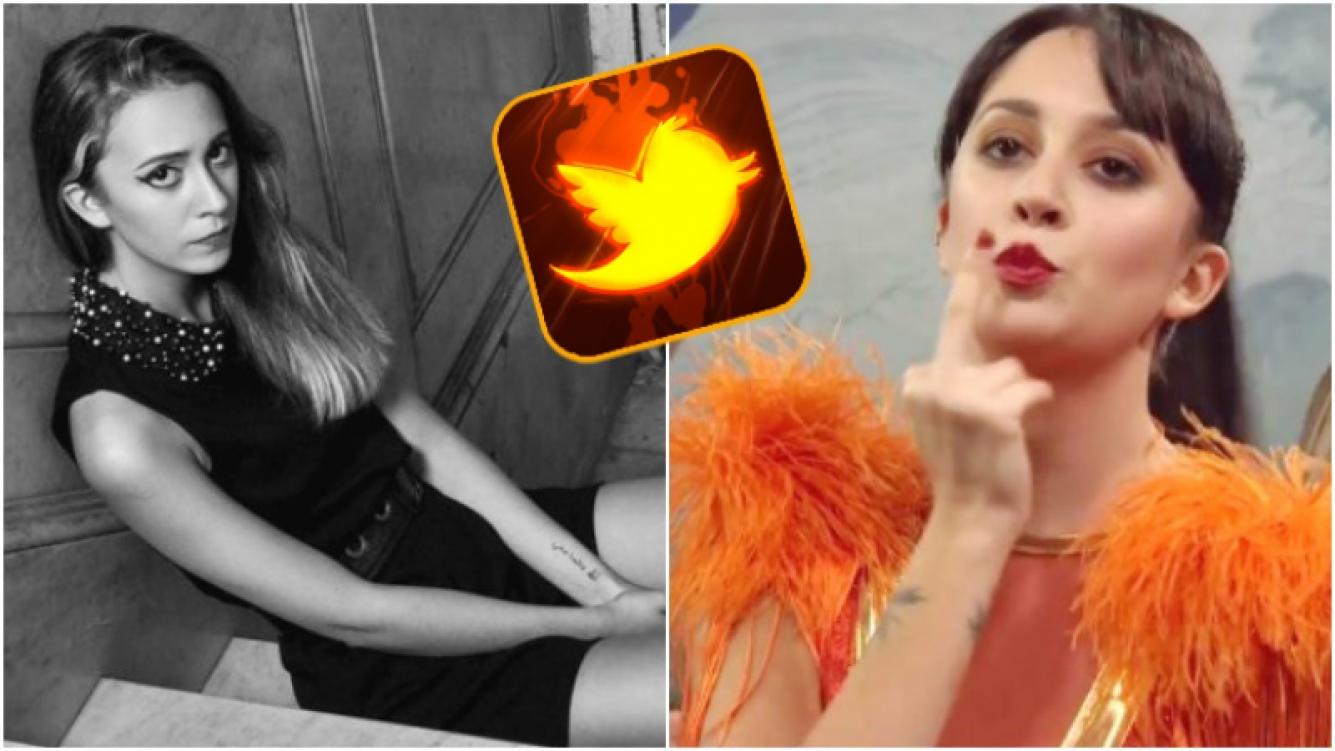 El descargo de Nai Awada en Twitter trasel polémico gesto que les dedicó a las fans de Brian Lanzelotta en ShowMatch (Fotos: Captura y Web)