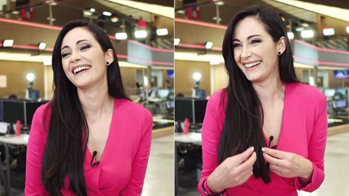 Gabriela Sobrado, conductora de MShow y PlanTV charló con Ciudad.