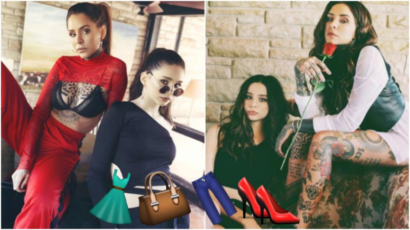 La primera producción de fotos de Candelaria y Juanita Tinelli juntas para una campaña de ropa (Fotos: Instagram)