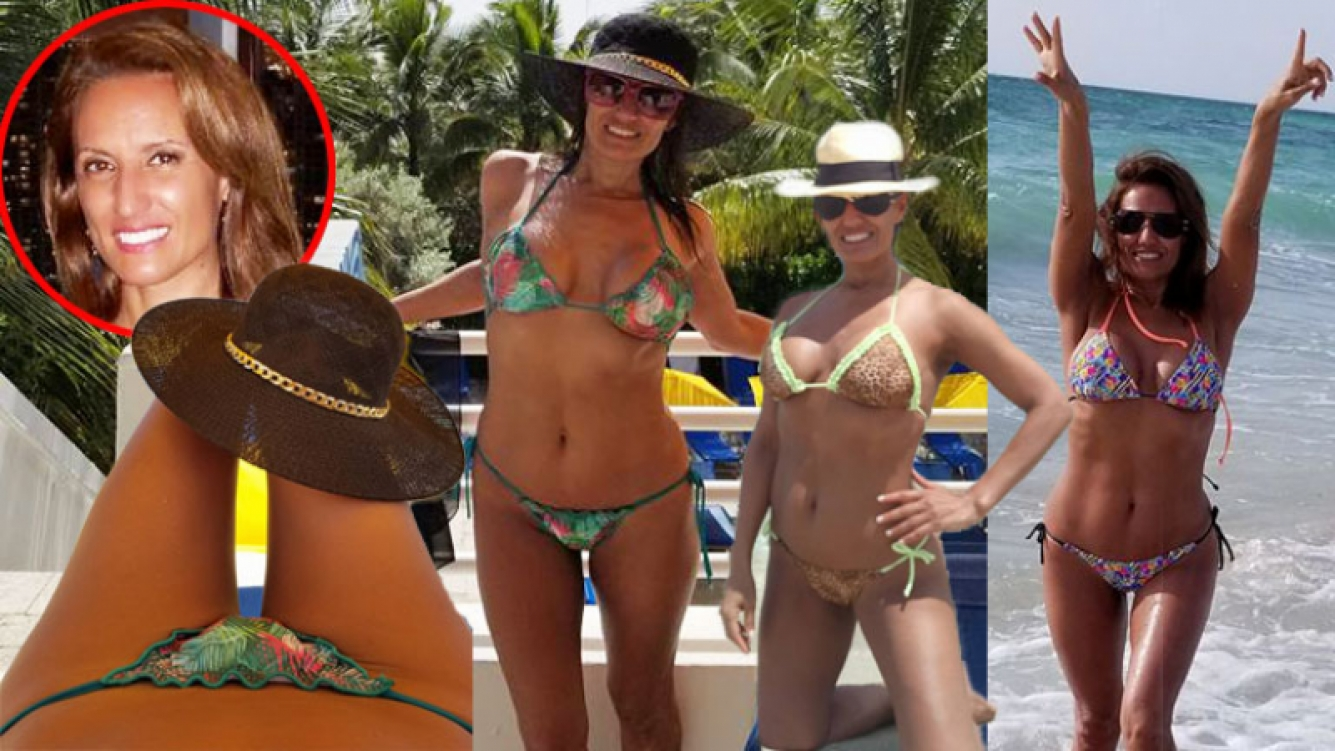 El destape hot de la periodista Nancy Duré de vacaciones en Miami. (Foto: Faecbook)