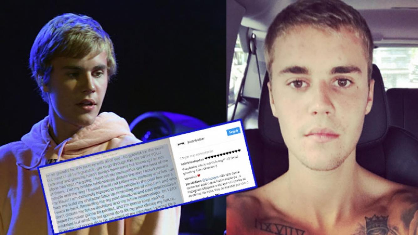 Fuerte carta abierta de Justin Bieber a sus fans.
