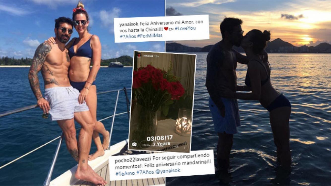 Pocho Lavezzi y Yanina Screpante, declaraciones súper románticas