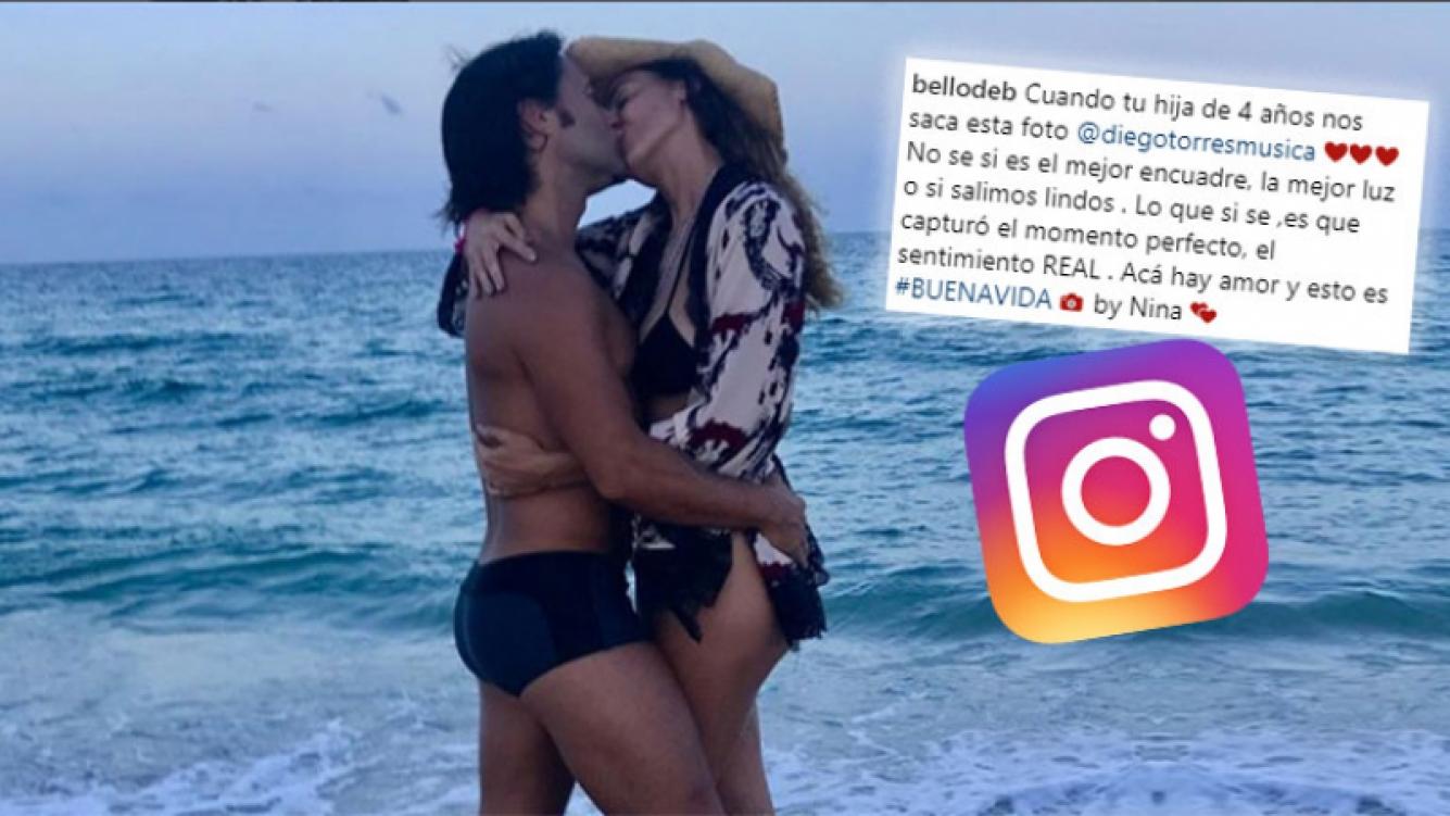 ¡Mucho amor! La tierna foto de Diego Torres y Débora Bello ¡sacada por su hija!