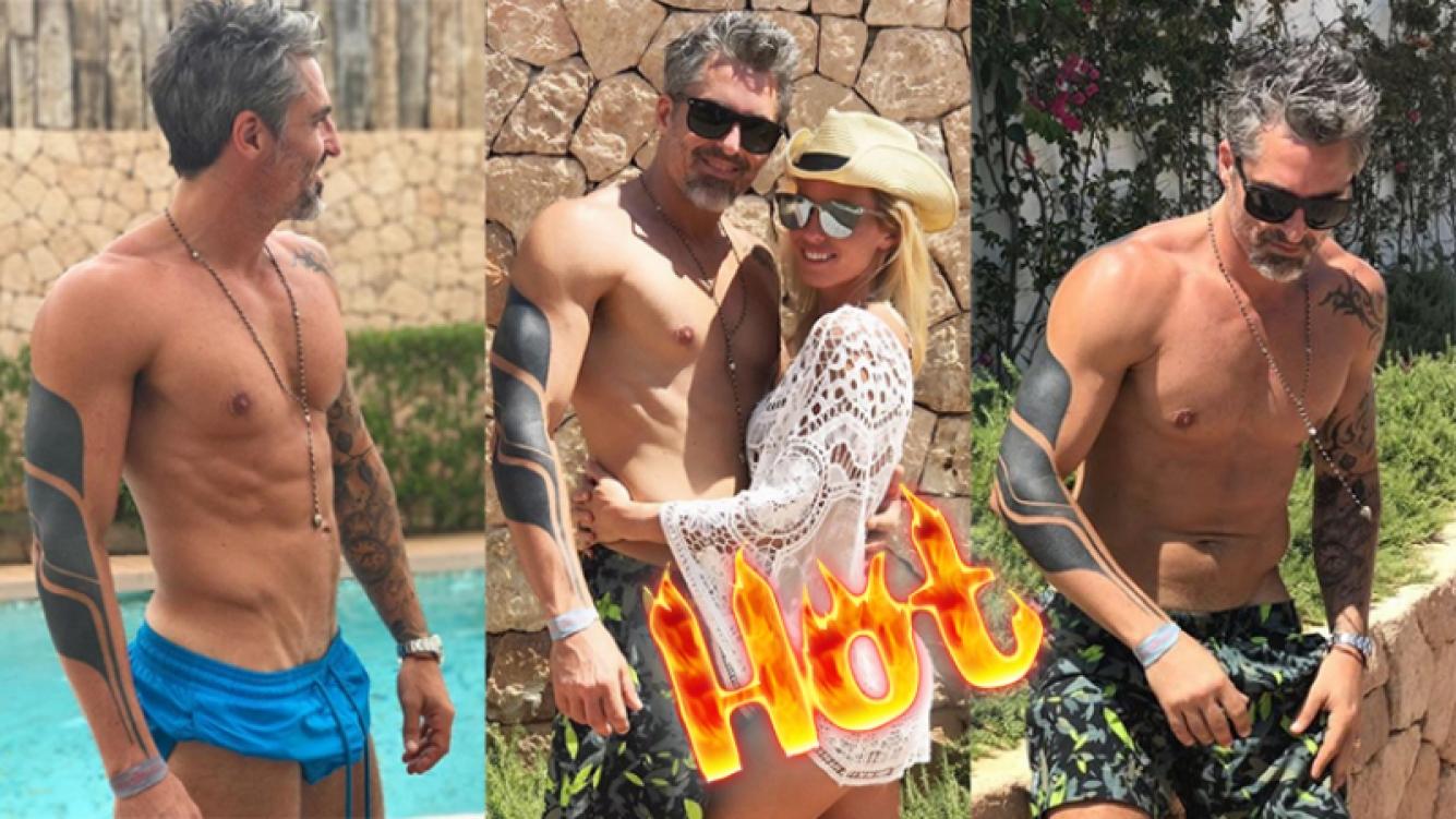 Nicolás Paladini, súper sexy desde Ibiza junto a Rocío Guirao Díaz (Fotos: Instagram).