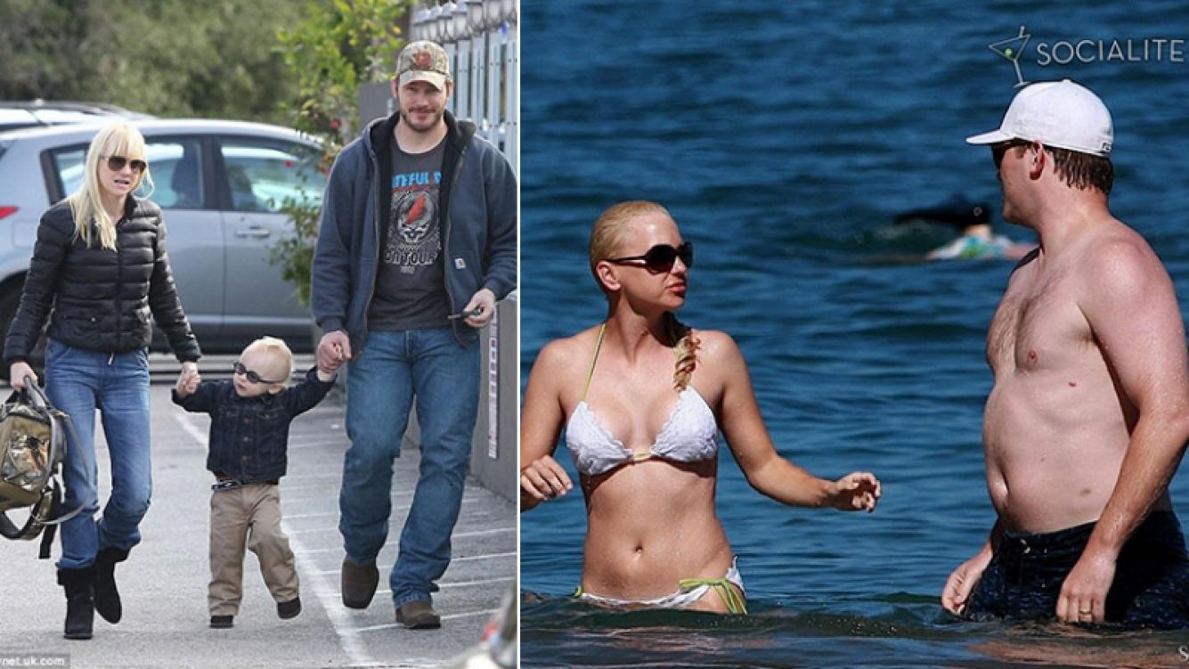 Anna Faris tiene 40 años. Chris Pratt, 38. Y tienen un hijo en común: Jack, que el 25 de agosto cumplirá 5 años.