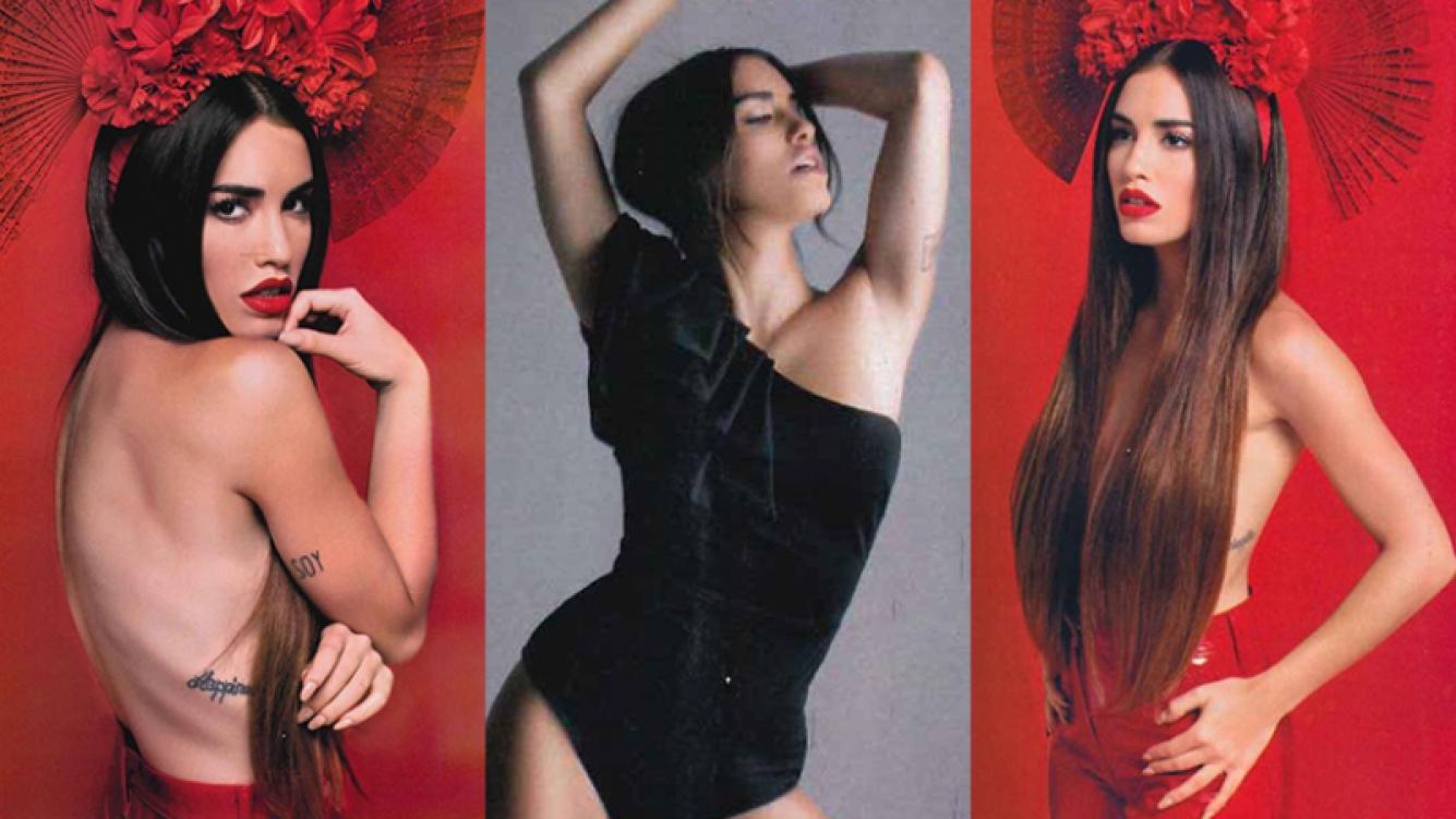 Lali Espósito, diosa en una nueva producción (Fotos: Gente).