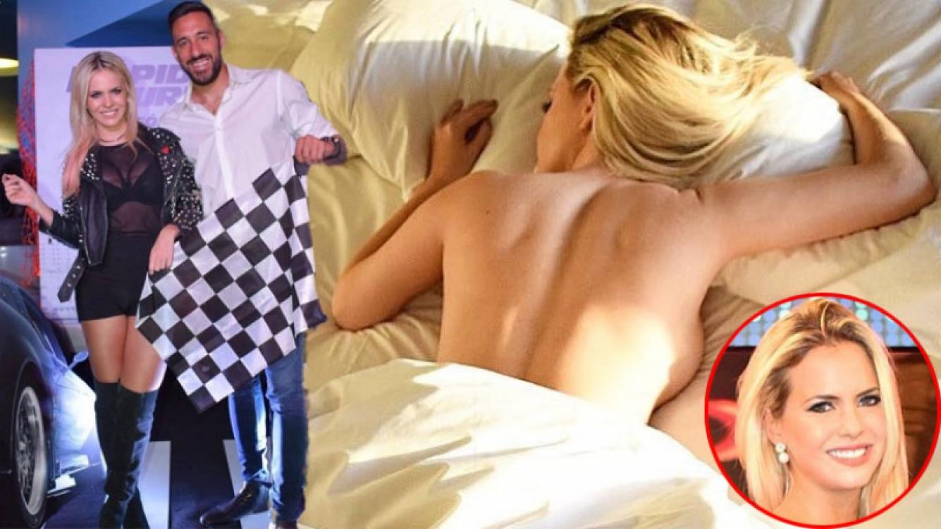 Alejandra Maglietti, desnuda en su cama. (Foto: Instagram)