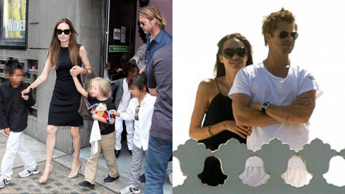 Brad Pitt y Angelina Jolie tienen 6 hijos. ¿Intentarán reconciliarse por ellos?
