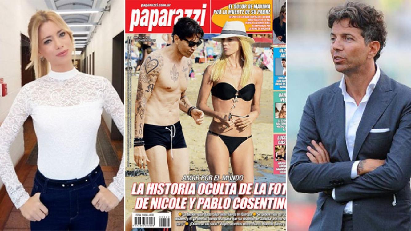 ¿Hay una foto de Nicole Neumann y Pablo Cosentino en Europa?