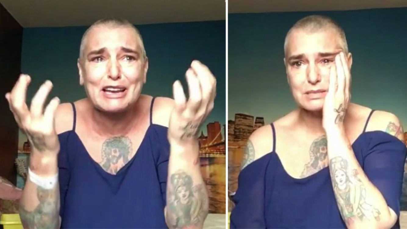 Sinead O'Connor alarmó a sus seguidores en Facebook tras un dramático video. (Foto: captura video)