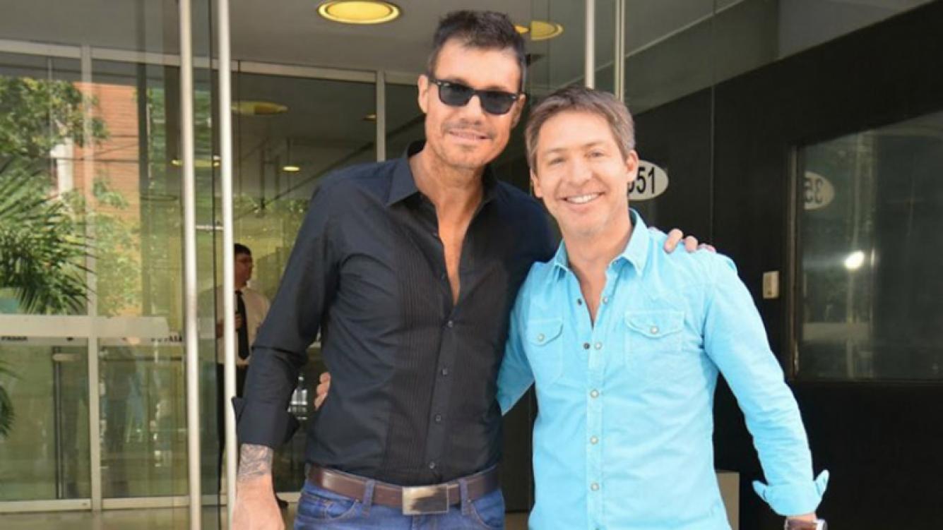 Marcelo Tinelli y Adrián Suar seguirán trabajando juntos en 2018.