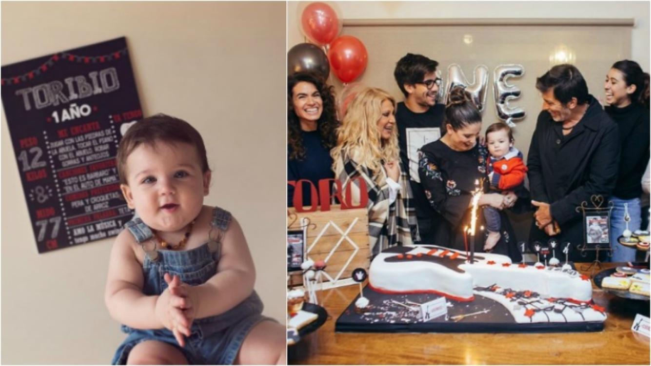 """¡Toda la familia unida! El cumpleaños rockero de 1 año de Toribio, el hijo de Juana Repetto: """"Muy emocionante compartirlo con todos ellos"""" Foto: Instagram"""