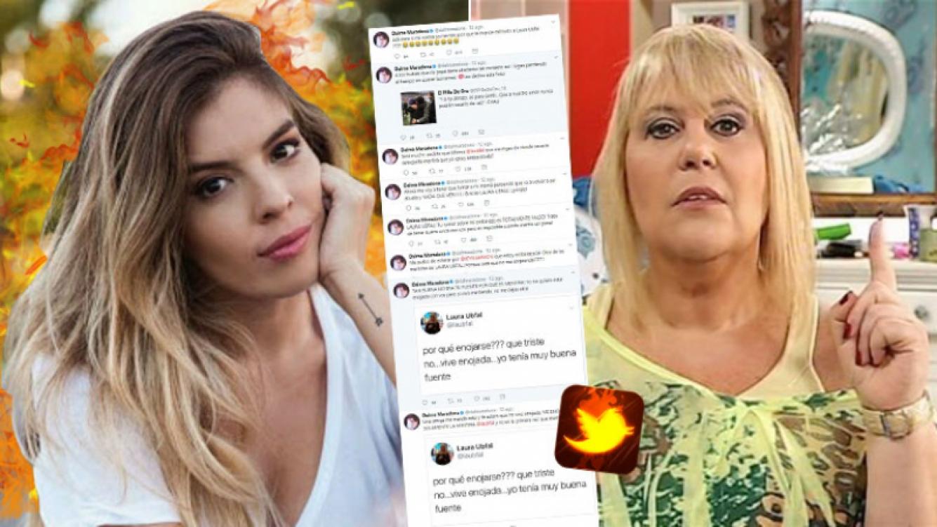 Dalma Maradona y su explosión de furia contra Laura Ubfal