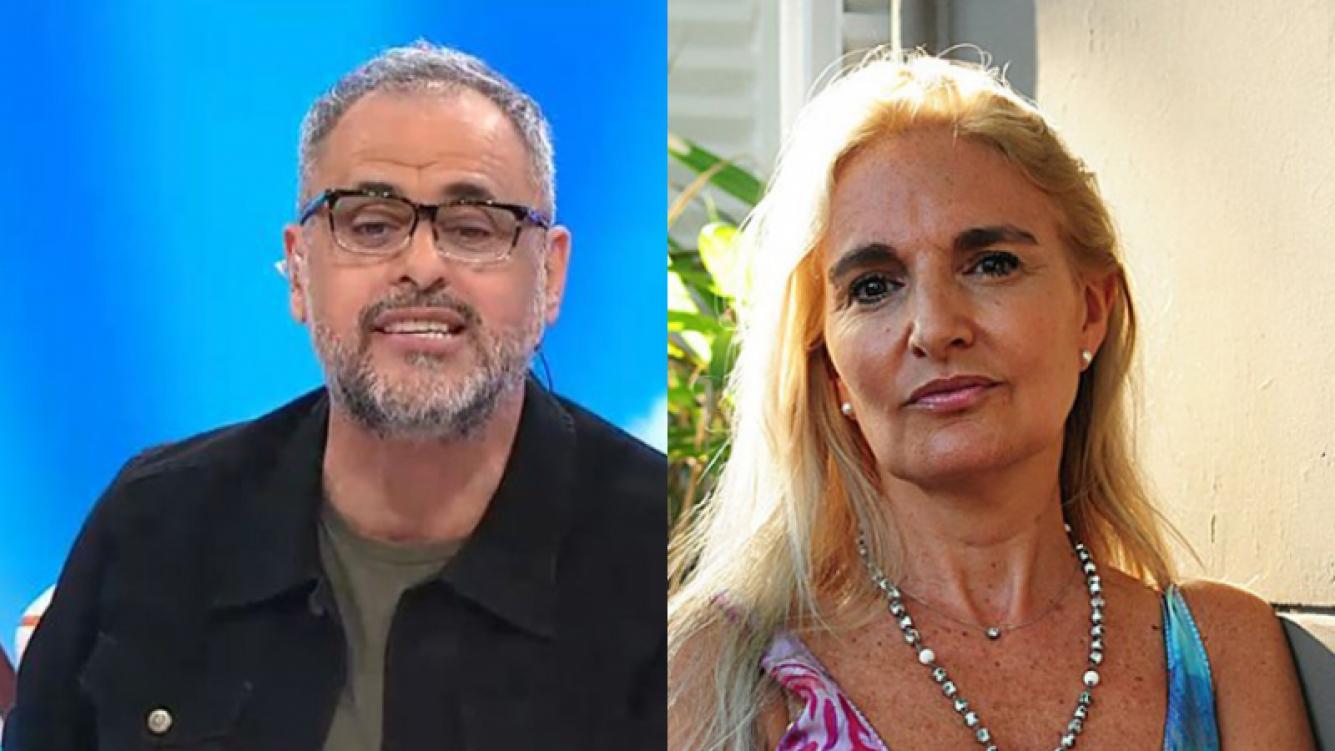 Jorge Rial y un picante comentario en Twitter sobre su exmujer.