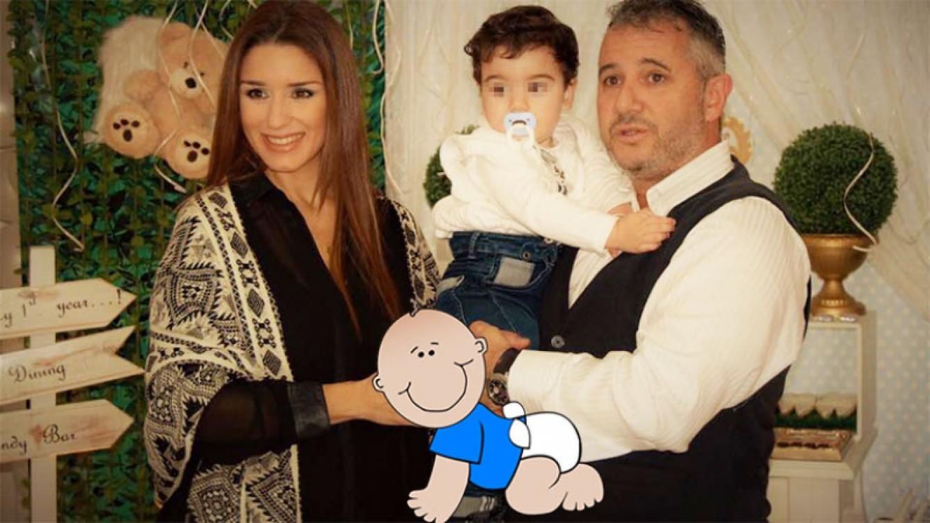 Violeta Lo Re fue mamá por segunda vez en dos años junto a Víctor Stortini. (Foto: Facebook)