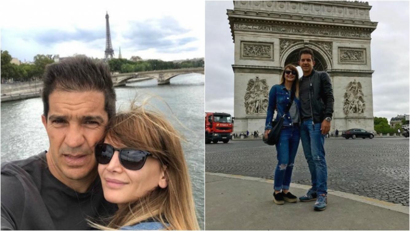 """La romántica escapada de Amalia Granata y Leo Squarzon en París: """"Luna de miel"""" Foto: Instagram"""