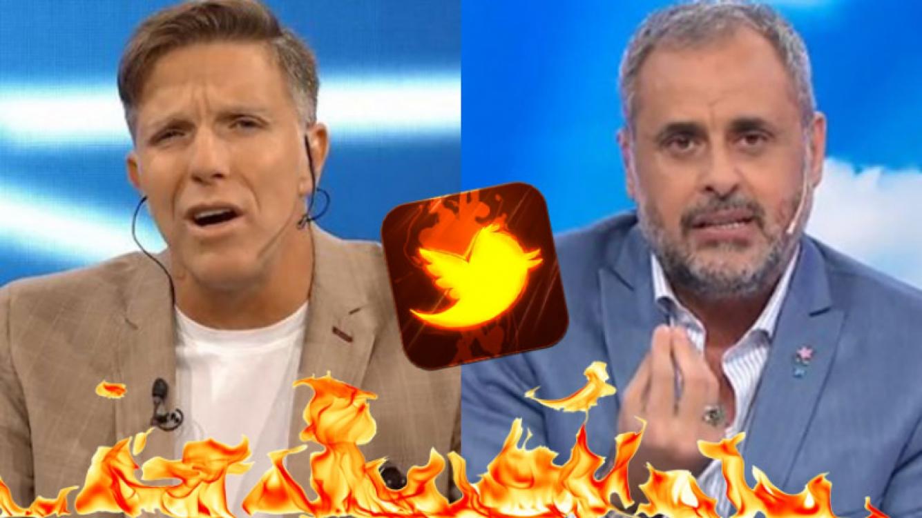 Alejandro Fantino y Jorge Rial, enfrentados en Twitter.