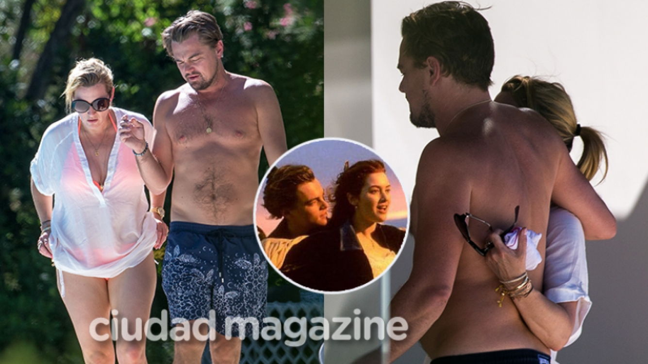 Leonardo DiCaprio y Kate Winslet, súper afectuosos en Saint Tropez  (Fotos: GrosbyGroup).