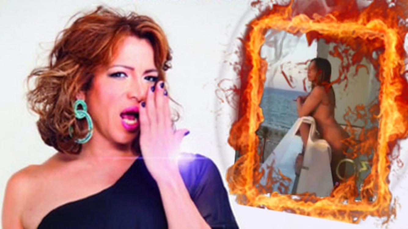 Lizy Tagliani, completamente desnuda a los 46 años, en el verano de Ibiza